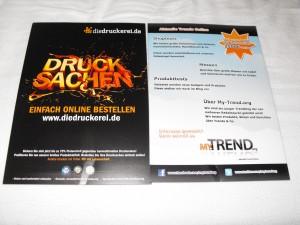 Gewinnspiel: Flyer unter die Leute! aktuelle Trends
