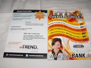 Kurzbericht: FlyerBANK   Druckerei aktuelle Trends
