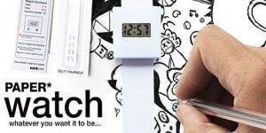 Paper Watch   mal dir deine kreative Uhr! aktuelle Trends