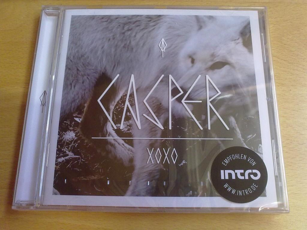 jetzt das neue casper album xoxo kaufen my. Black Bedroom Furniture Sets. Home Design Ideas