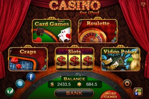 AppReview: Casino for iPad aktuelle Trends