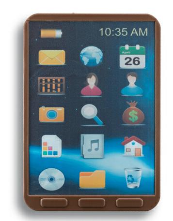 Ein Tablet PC aus Schokolade aktuelle Trends