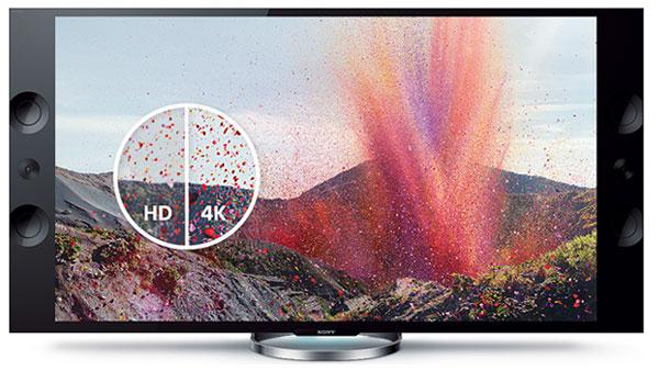 Sony 4K Fernseher im Vergleich zu Full HD