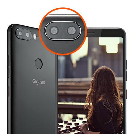 Gigaset GS370 Smartphone Kamera