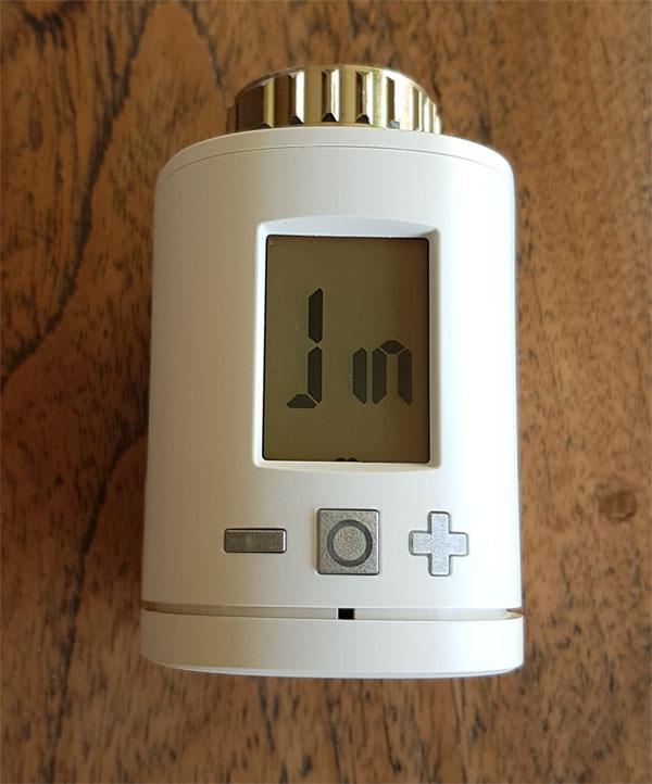 Smartes Thermostat Gigaset