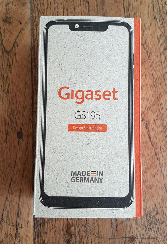 Gigaset GS195 Verpackung
